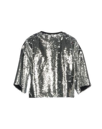 Фото 2 - Женскую толстовку или олимпийку MSGM серебристого цвета