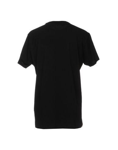 Фото 2 - Женскую футболку LES BENJAMINS черного цвета