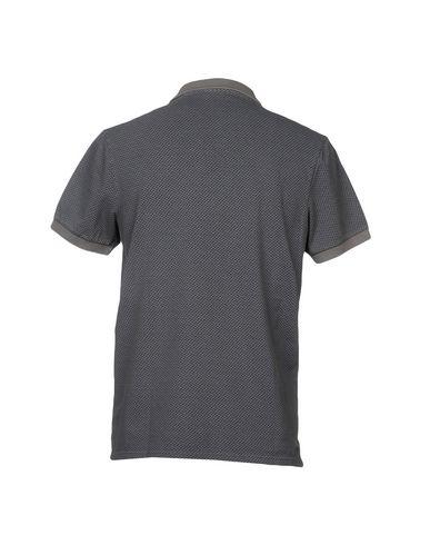 Фото 2 - Мужское поло SHOCKLY серого цвета