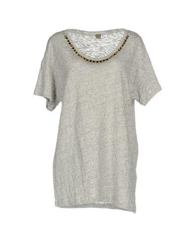 Фото - Женскую футболку JIJIL светло-серого цвета