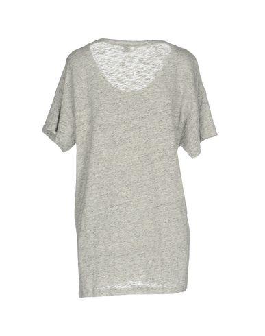 Фото 2 - Женскую футболку JIJIL светло-серого цвета