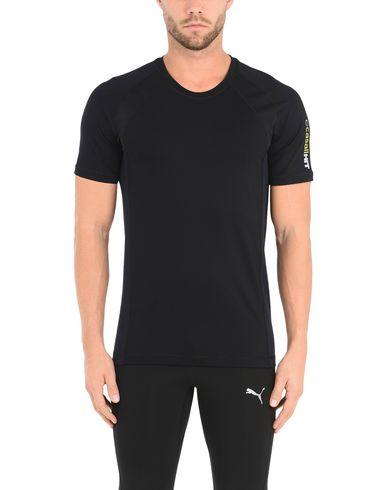 Фото 2 - Женскую футболку CASALL черного цвета