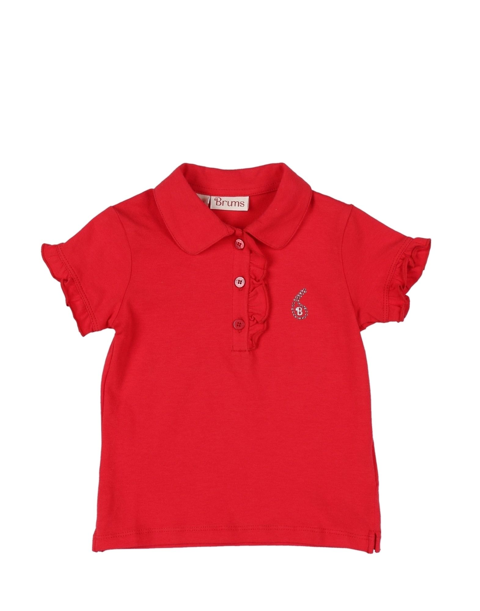 Brums Kids' Polo Shirts In Red