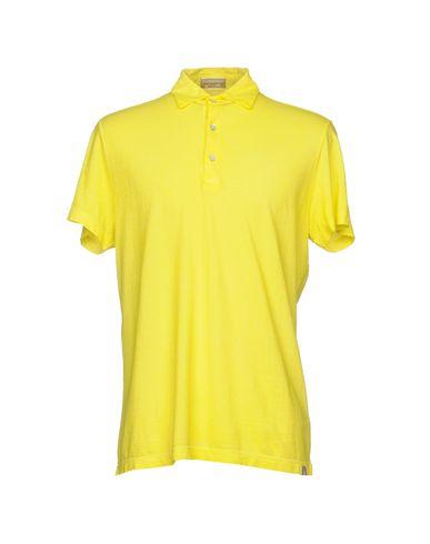 Фото - Мужское поло CAPOBIANCO желтого цвета