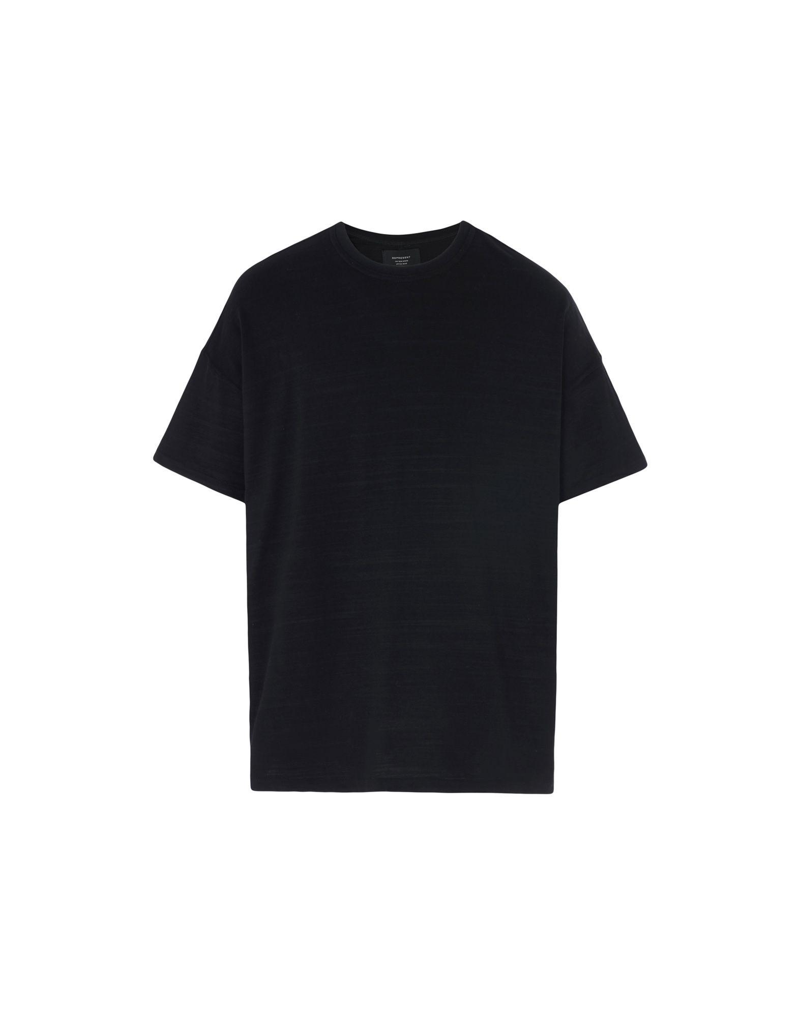 REPRESENT Printed Back T-Shirt in Black