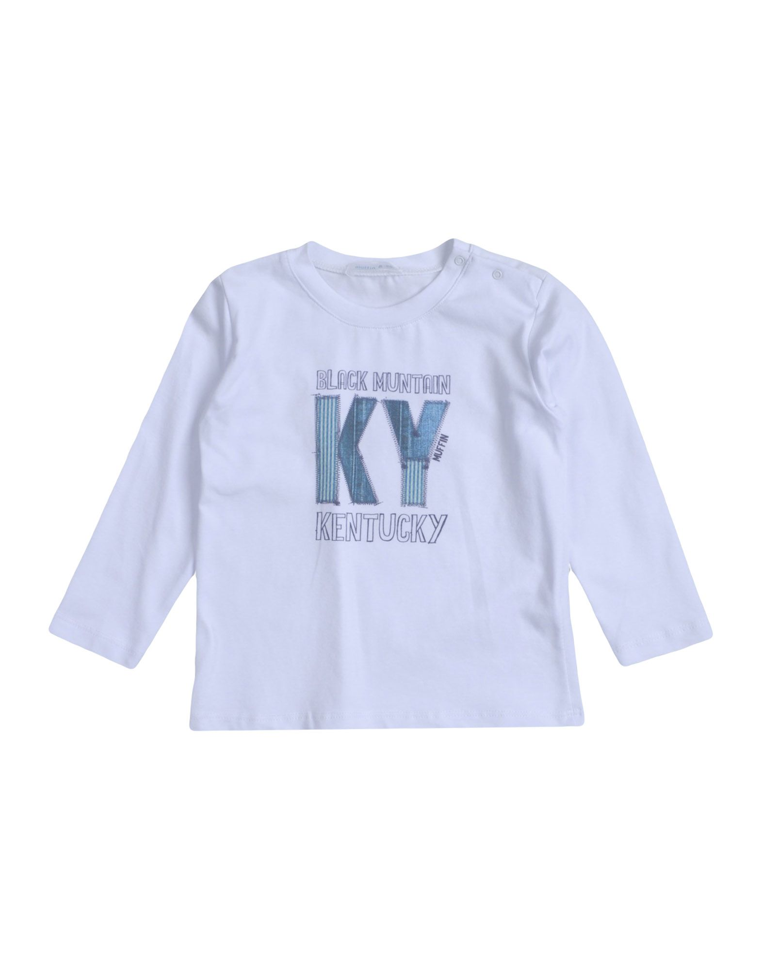 Muffin & Co. Kids' T-shirts In White