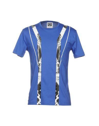 Фото - Женскую футболку URBAN LES HOMMES синего цвета