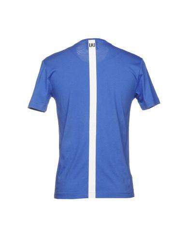Фото 2 - Женскую футболку URBAN LES HOMMES синего цвета