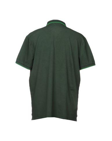 Фото 2 - Мужское поло SHOCKLY темно-зеленого цвета