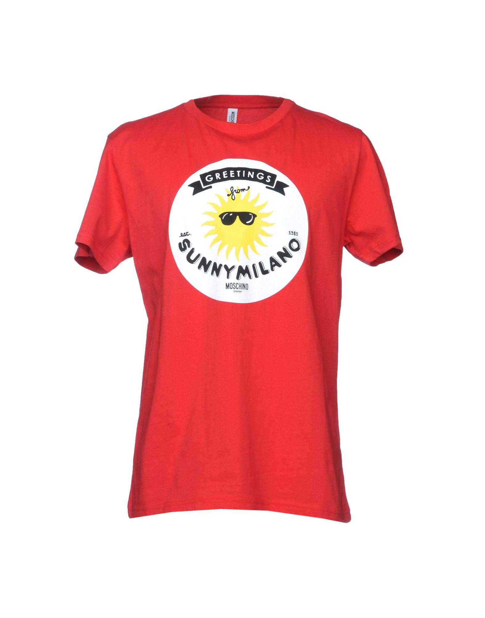 MOSCHINO SWIM Футболка футболка moschino moschino mo351ewzux60