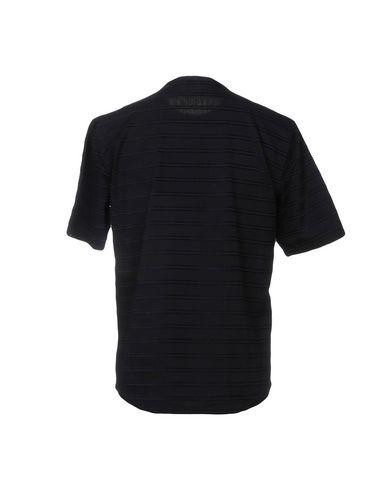Фото 2 - Женскую футболку THE GIGI темно-синего цвета
