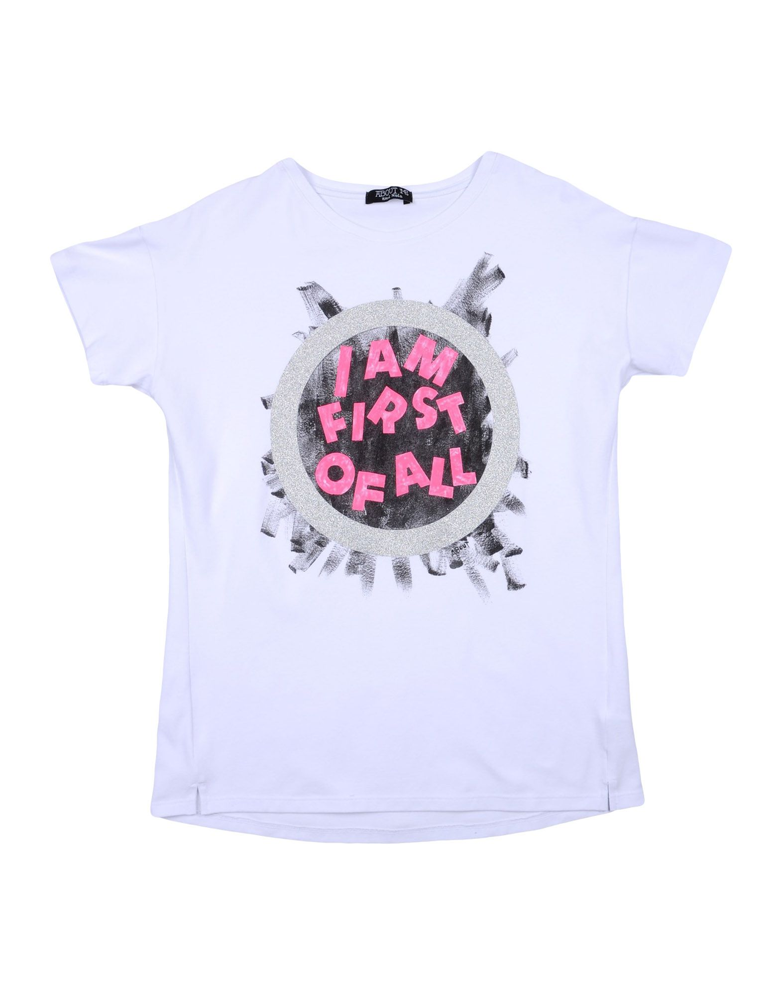 About Me Handmade Kids' T-shirts In White