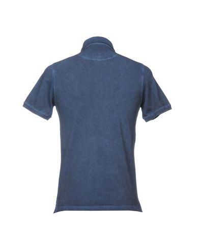 Фото 2 - Мужское поло ALPHA STUDIO грифельно-синего цвета