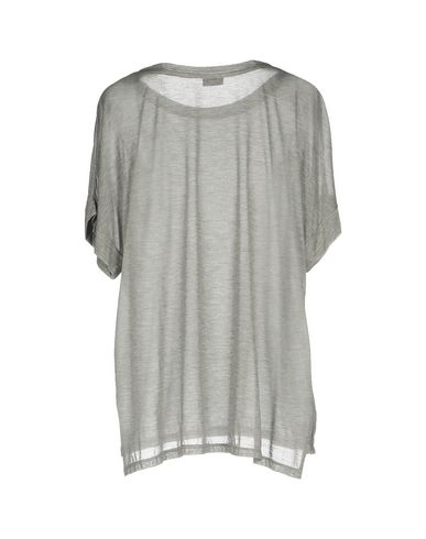 Фото 2 - Женскую футболку SNOBBY SHEEP серого цвета