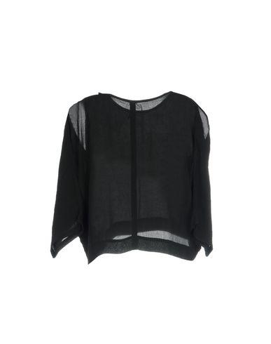 Фото 2 - Женскую блузку BARBARA I GONGINI черного цвета