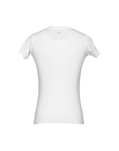 Фото 2 - Женскую футболку UPPER PLAYGROUND белого цвета