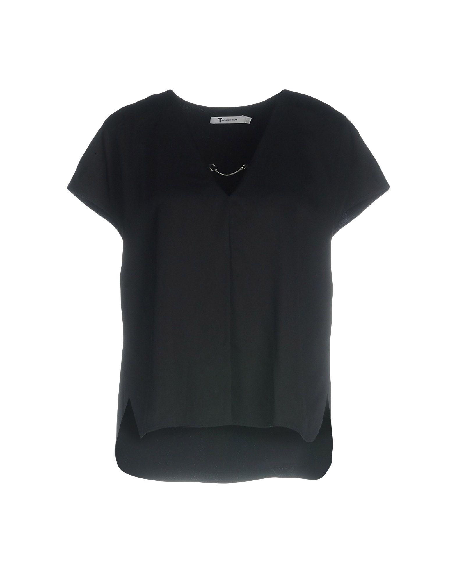 T by ALEXANDER WANG Блузка t art блузка