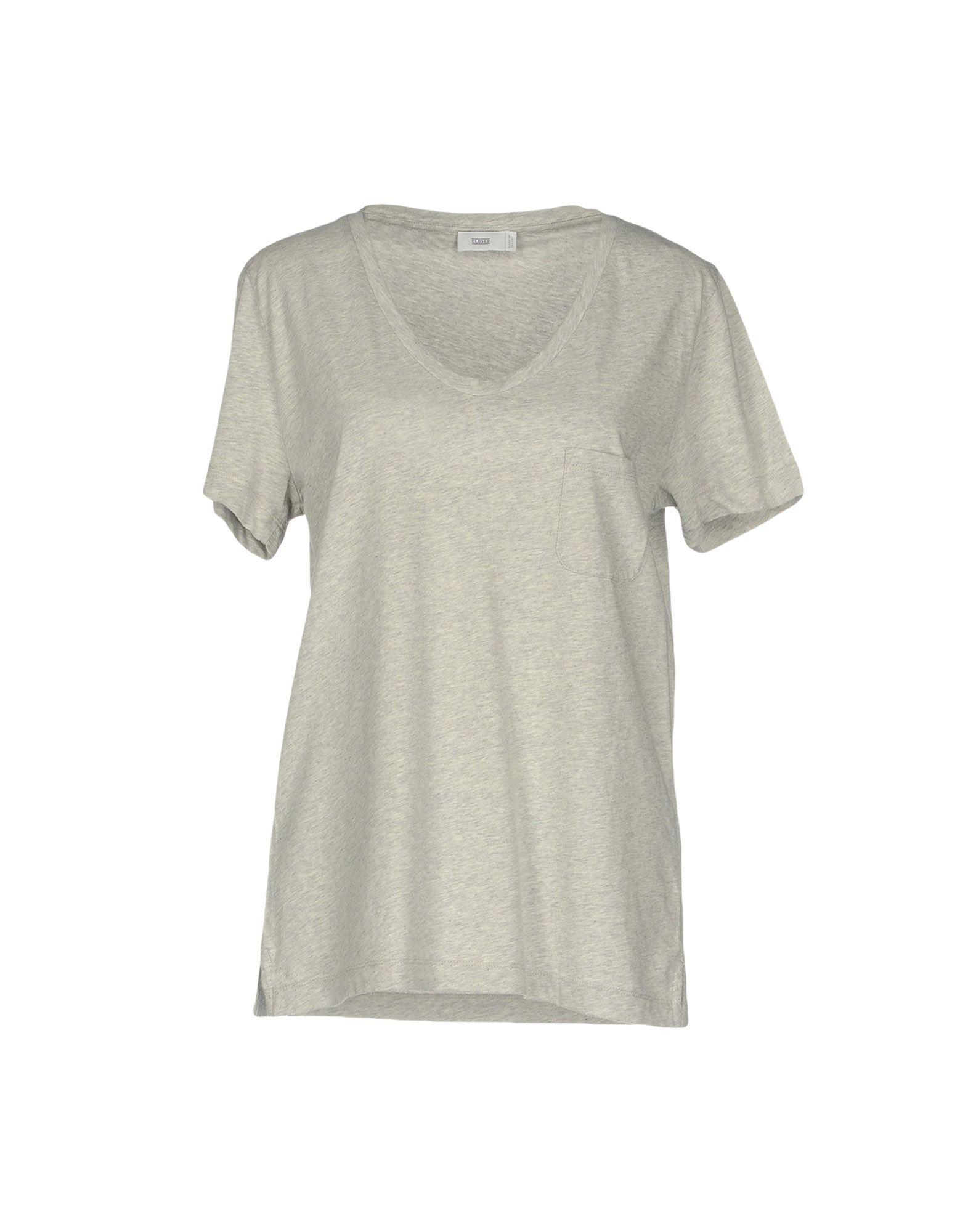 CLOSED Damen T-shirts Farbe Hellgrau Größe 6