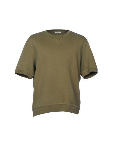 Купить Мужскую толстовку PAOLO PECORA цвет зеленый-милитари