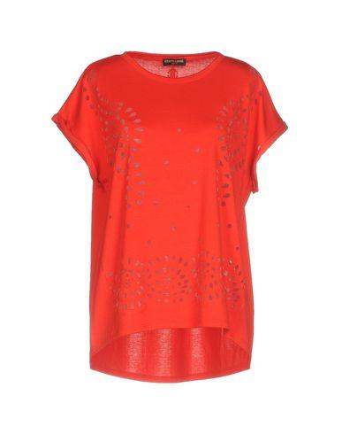 Фото - Женскую футболку ROBERTO CAVALLI GYM красного цвета