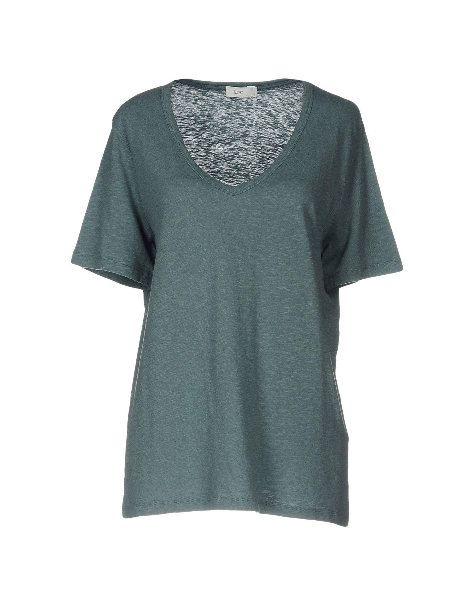 CLOSED Damen T-shirts Farbe Grau Größe 6