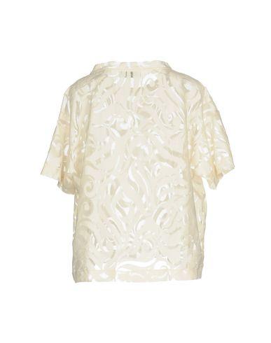 Фото 2 - Женскую блузку AGLINI цвет слоновая кость