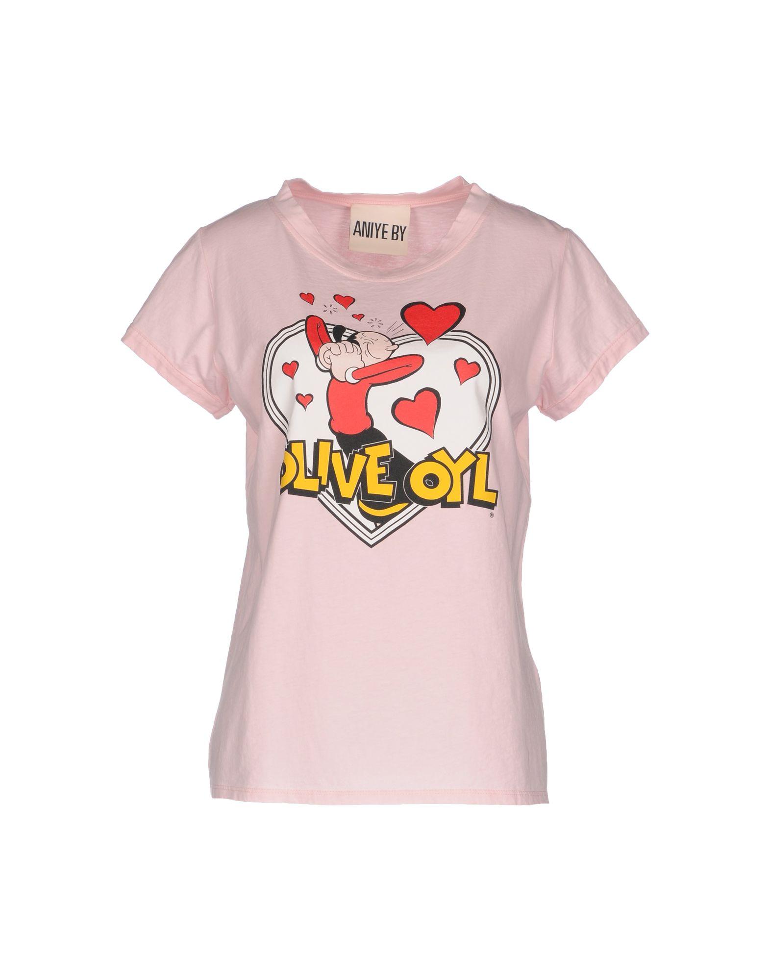ANIYE BY Damen T-shirts Farbe Rosa Größe 6