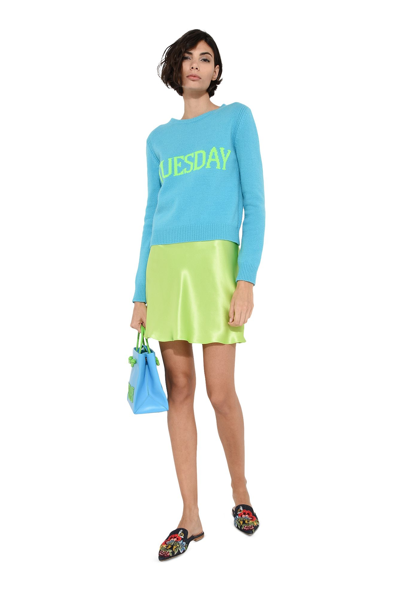 Tuesday fluo sweater