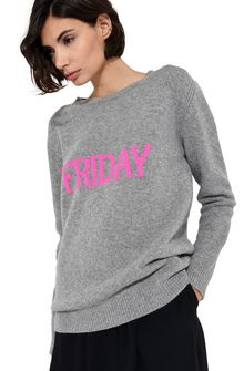 ALBERTA FERRETTI Friday fluo sweater KNITWEAR Woman a