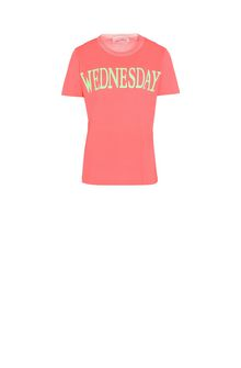 ALBERTA FERRETTI Wednesday fluo T-shirt T-shirt Woman e