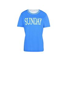 ALBERTA FERRETTI Sunday fluo T-shirt T-shirt Woman e