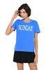 ALBERTA FERRETTI Sunday fluo T-shirt T-shirt Woman r