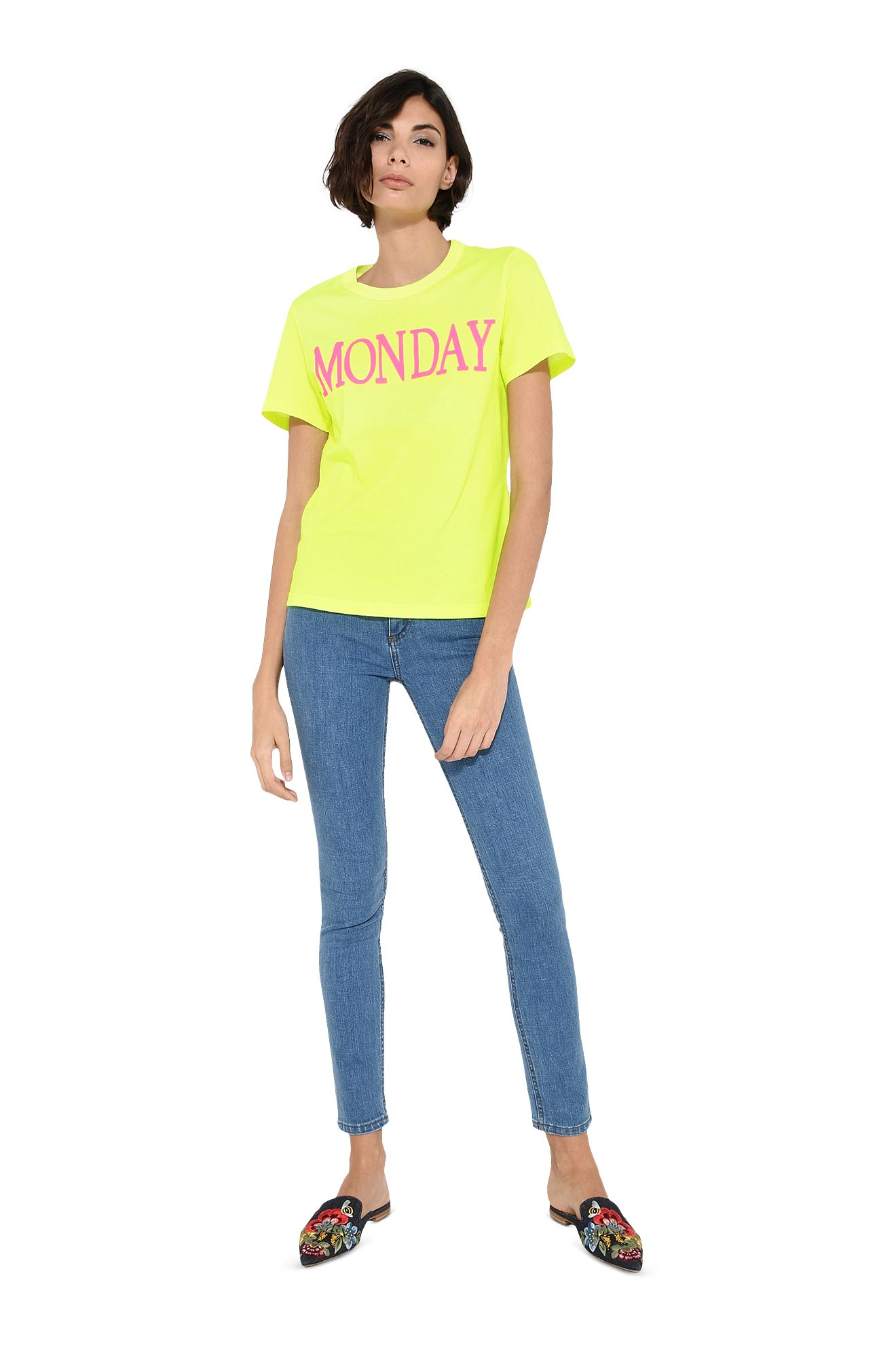 Monday fluo T-shirt