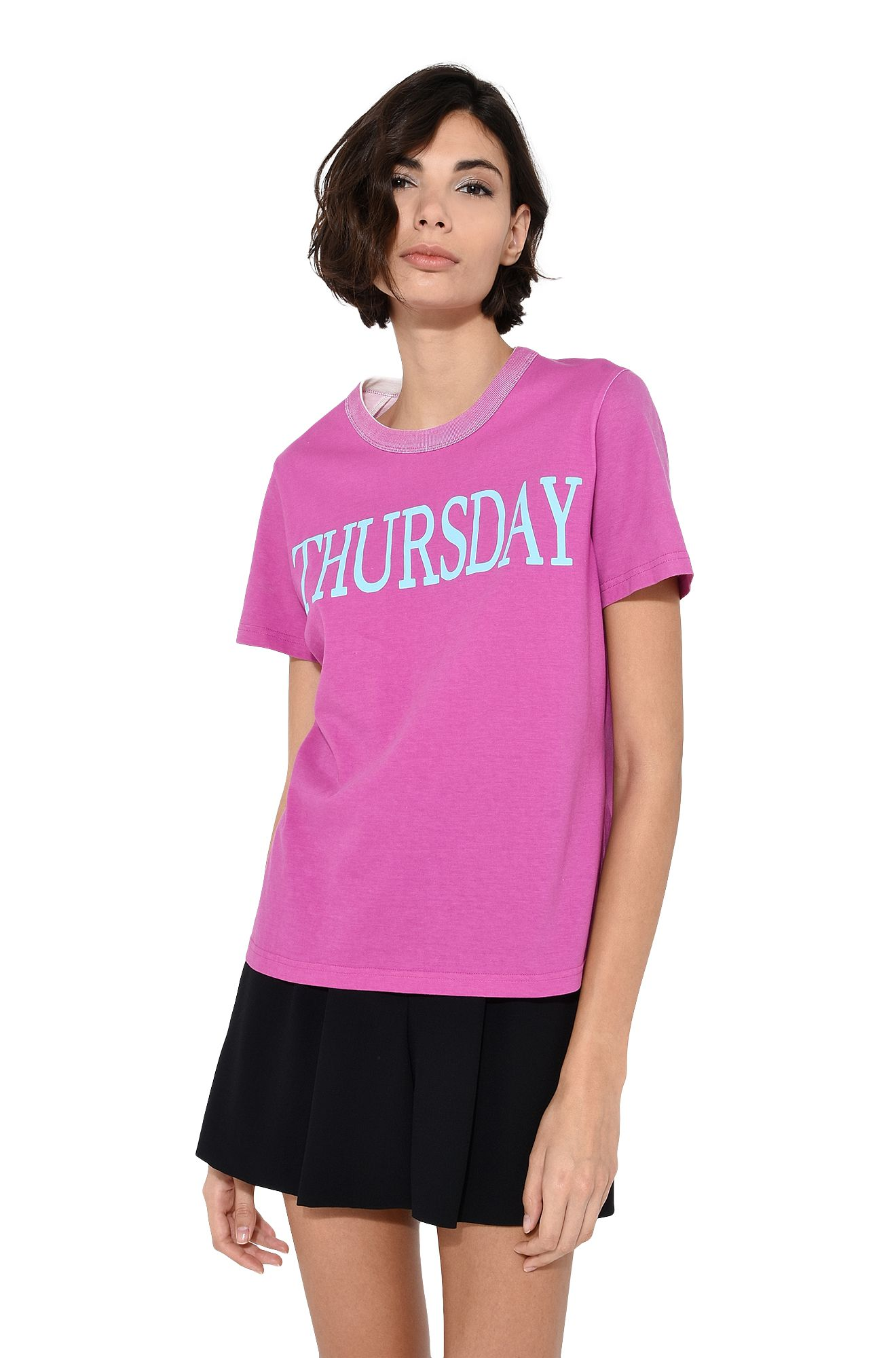ALBERTA FERRETTI T-shirt D Yesterday sequin T-shirt r