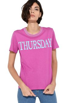 ALBERTA FERRETTI Thursday fluo T-shirt T-shirt Woman a