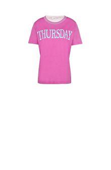 ALBERTA FERRETTI Thursday fluo T-shirt T-shirt Woman e