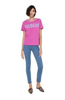 ALBERTA FERRETTI Thursday fluo T-shirt T-shirt Woman f