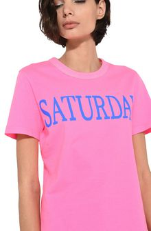 ALBERTA FERRETTI Saturday fluo T-shirt T-shirt Woman a