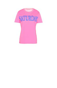 ALBERTA FERRETTI Saturday fluo T-shirt T-shirt Woman e