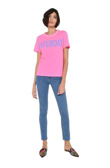 ALBERTA FERRETTI Saturday fluo T-shirt T-shirt Woman f