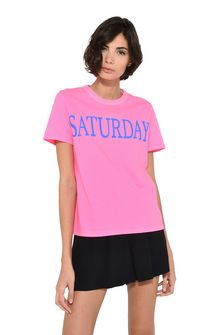 ALBERTA FERRETTI Saturday fluo T-shirt T-shirt Woman r
