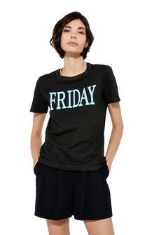 ALBERTA FERRETTI Friday fluo T-shirt  T-shirt Woman r