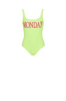 ALBERTA FERRETTI Monday fluo swimsuit SWIMSUIT Woman e