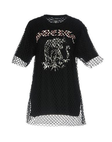 Купить Женскую футболку MARCELO BURLON черного цвета