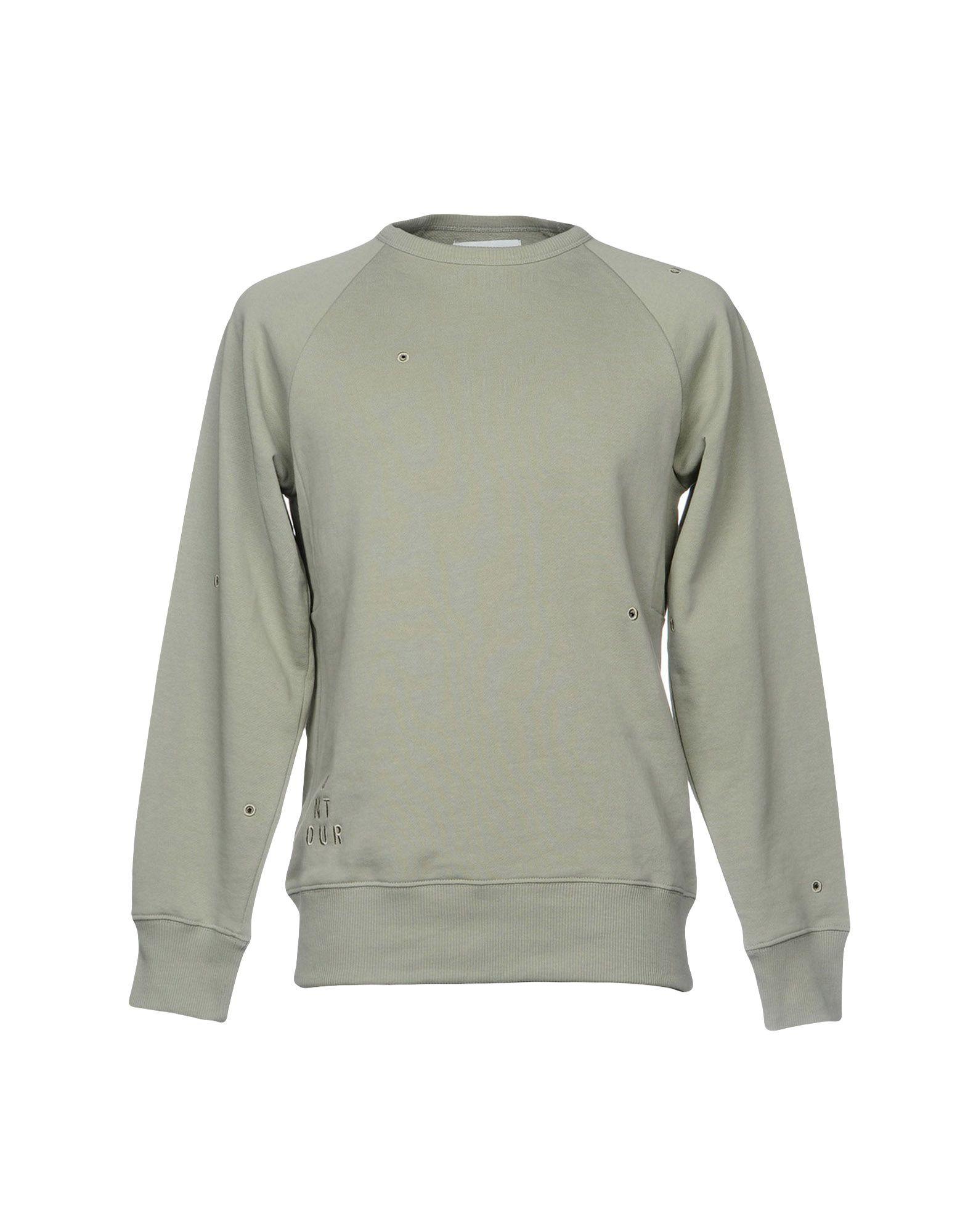《送料無料》ONTOUR メンズ スウェットシャツ ライトグリーン M コットン 100%