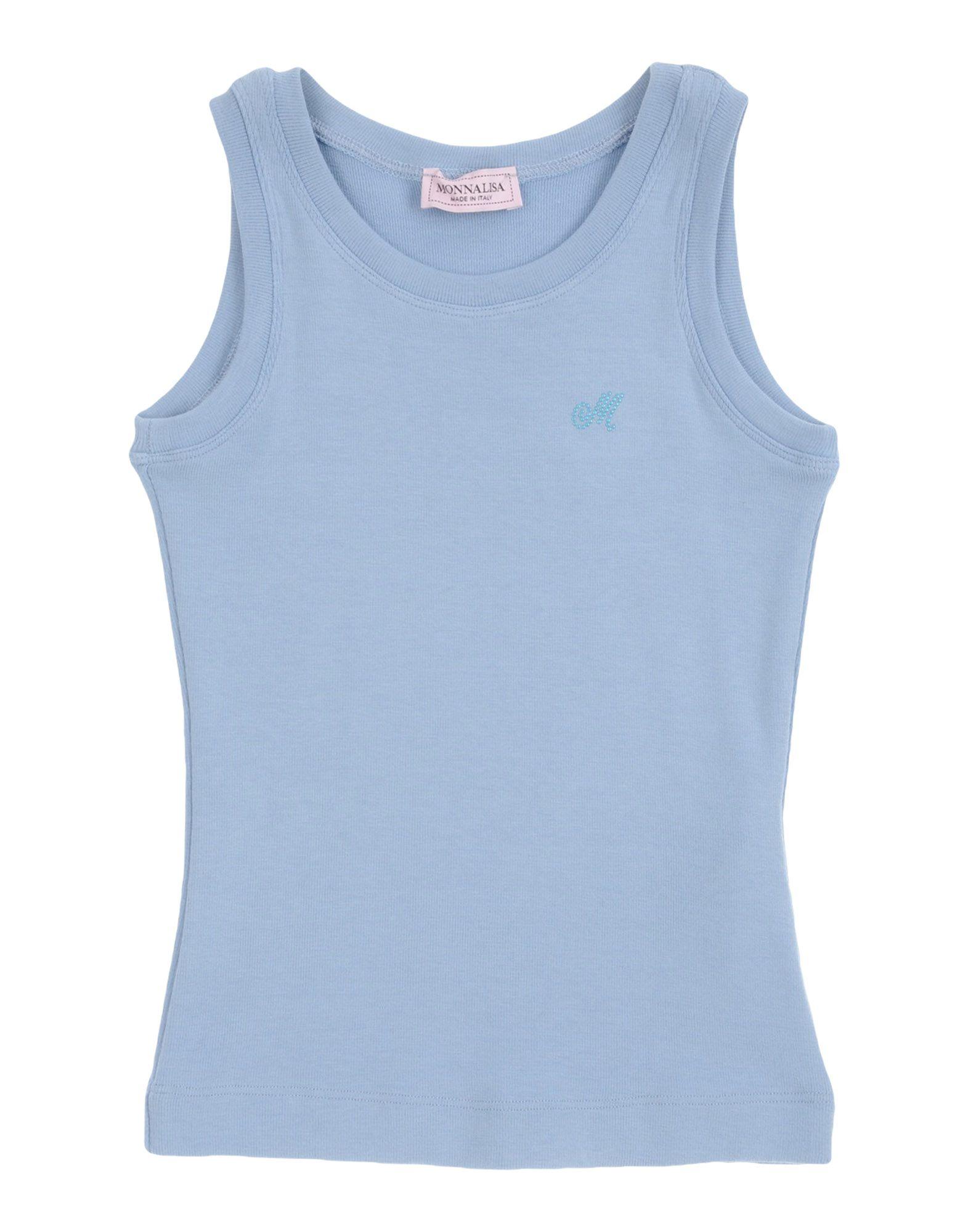 Monnalisa Kids' T-shirts In Blue