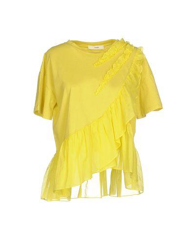 Футболка SUOLI. Цвет: желтый