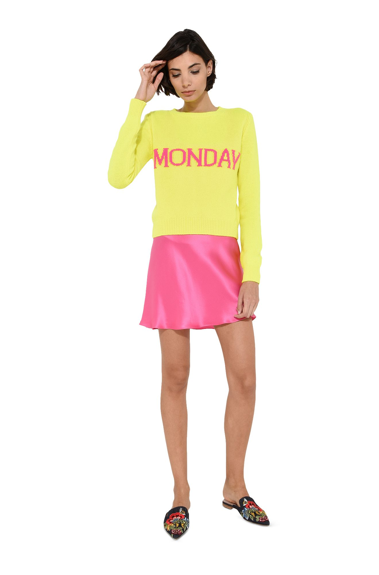 Monday fluo sweater