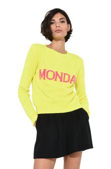ALBERTA FERRETTI Monday fluo sweater KNITWEAR Woman r