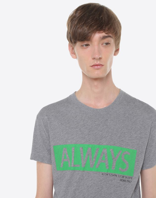 'Always' print T-shirt